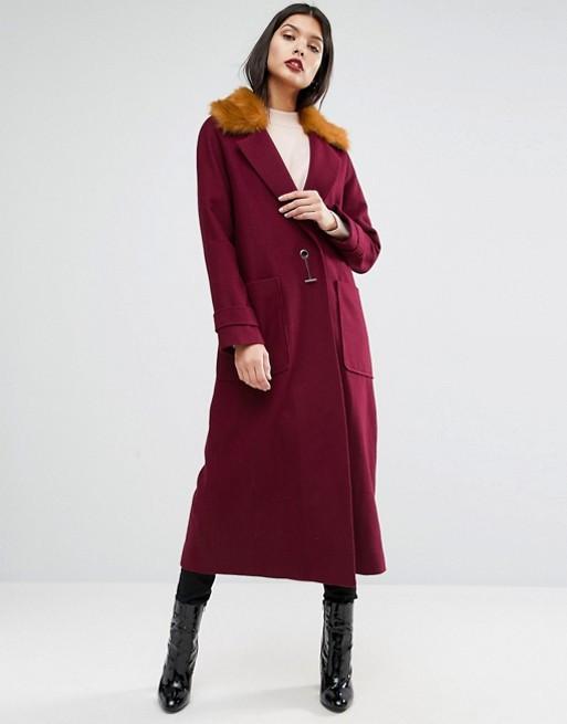 Asos Trapeze Coat