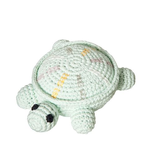 Crochet Turtle Rattle