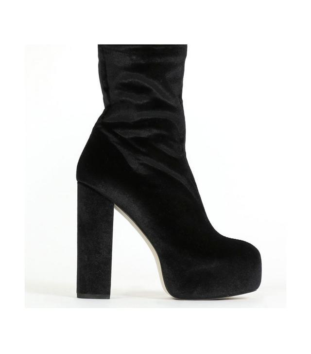 Public Desire x Hailey Baldwin Platform Ankle Boots