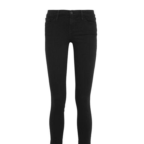 Le Skinny de Jeanne Raw Stagger Mid-Rise Jeans
