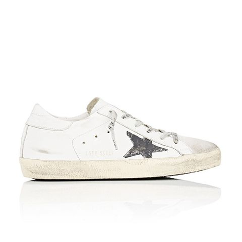 Superstar Satin & Suede Sneakers