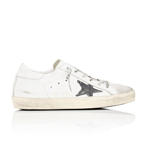 Golden Goose Superstar Satin & Suede Sneakers