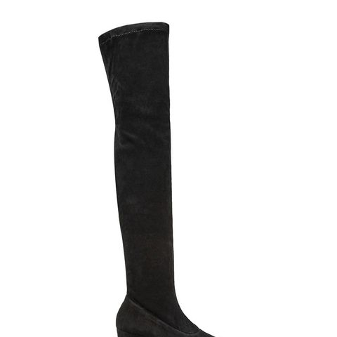 Sybil Leek Suede Over-the-Knee Boots