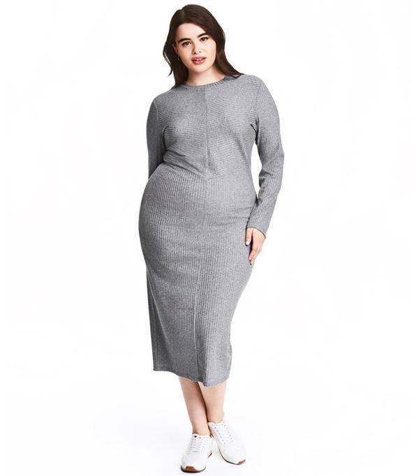 H&M + Ribbed Dress