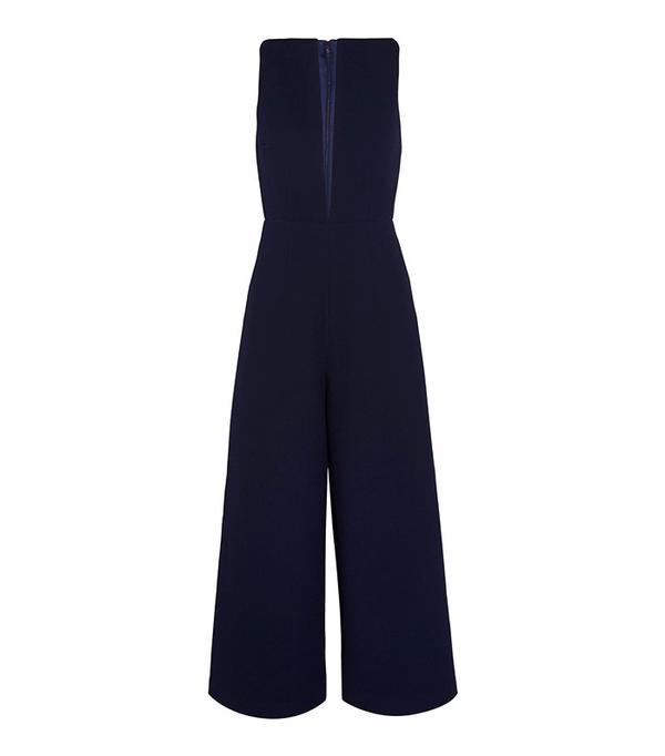 Solace London Kote Crepe Jumpsuit
