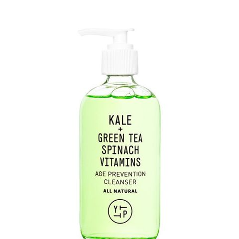 Kale + Spinach + Green Tea Age Prevention Cleanser