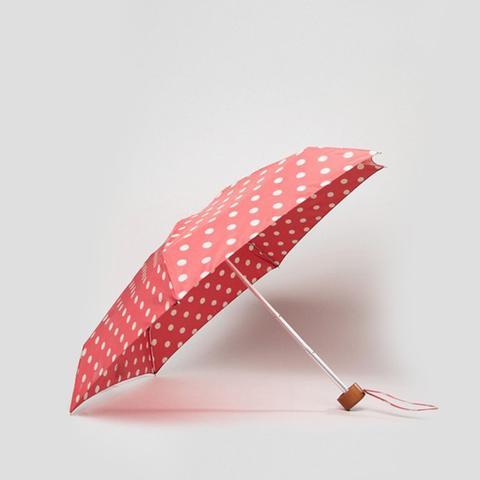 Tiny Button Polka Dot Umbrella