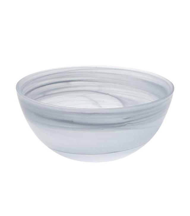 CB2 Up in Smoke Glass Bowl
