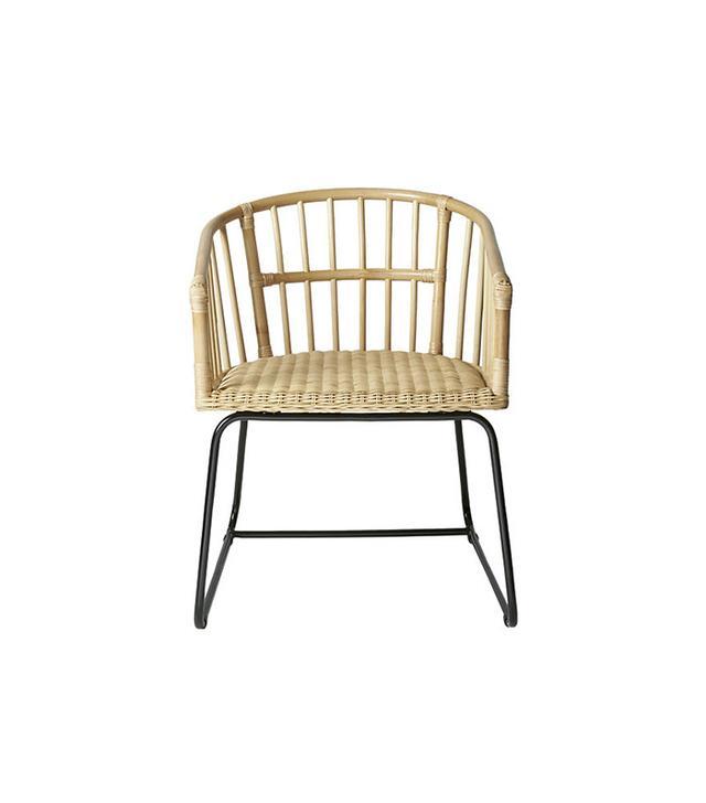 CB2 Tolala Natural Arm Chair