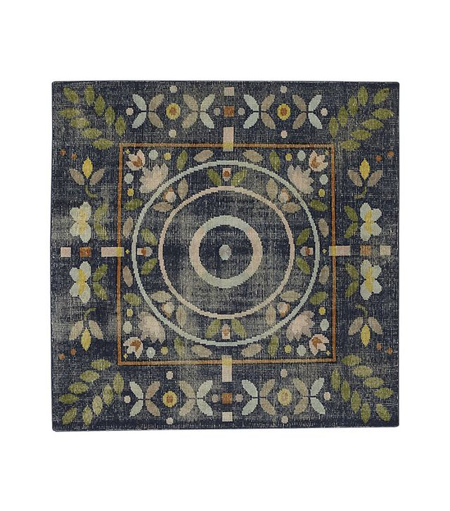 CB2 Petal Hand-Knotted Rug