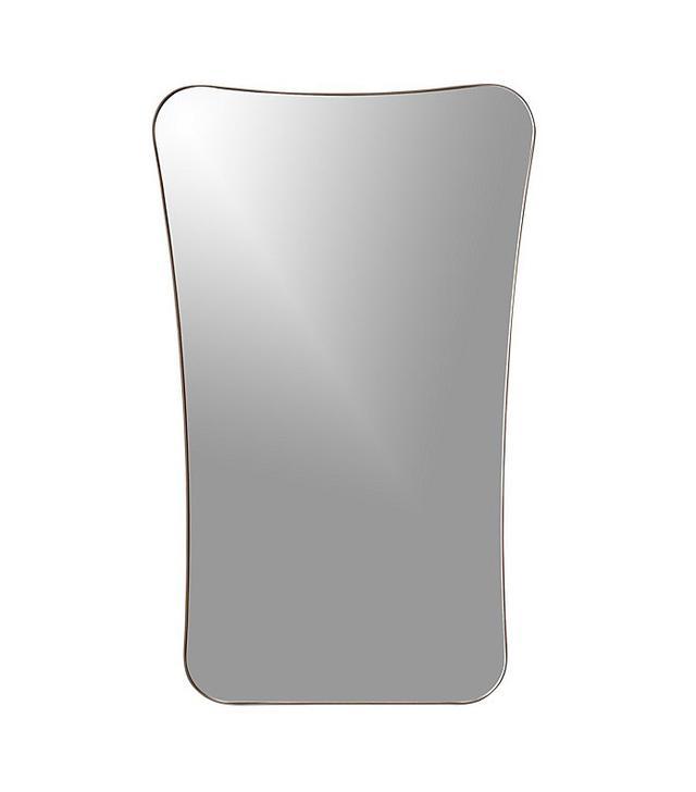 CB2 Elroy Small Walnut Wall Mirror