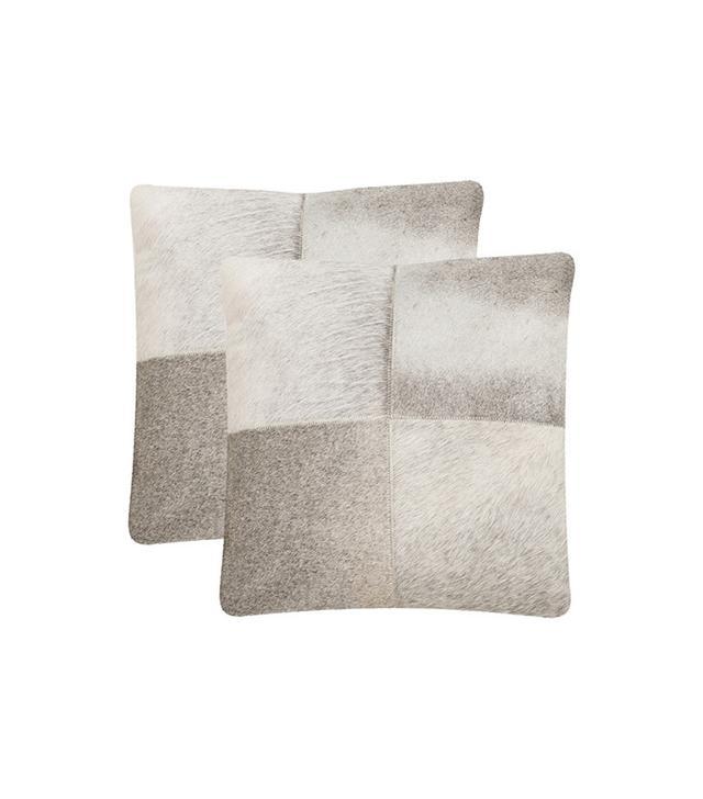 Safavieh Levar Gray Decorative Throw Pillow