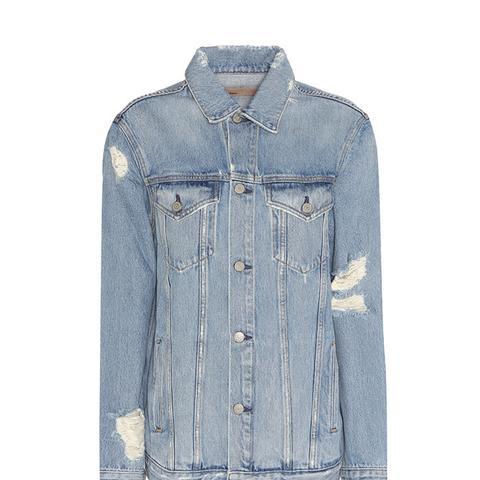 Daria Distressed Denim Jacket