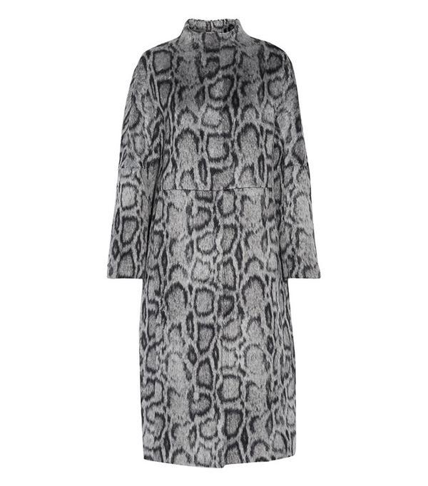 Elizabeth and James Balin Leopard-Print Faux Fur Coat