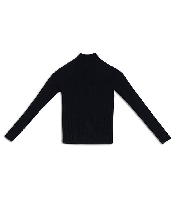 Who What Wear Slim Rib Mock Neck Sweater
