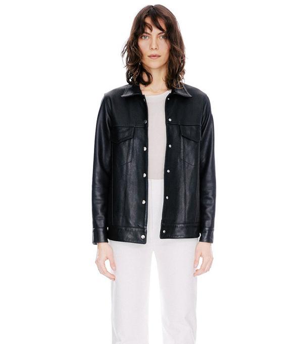 Veda Leroy Leather Jacket