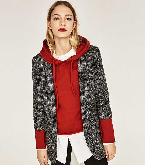 Zara Check Jacket