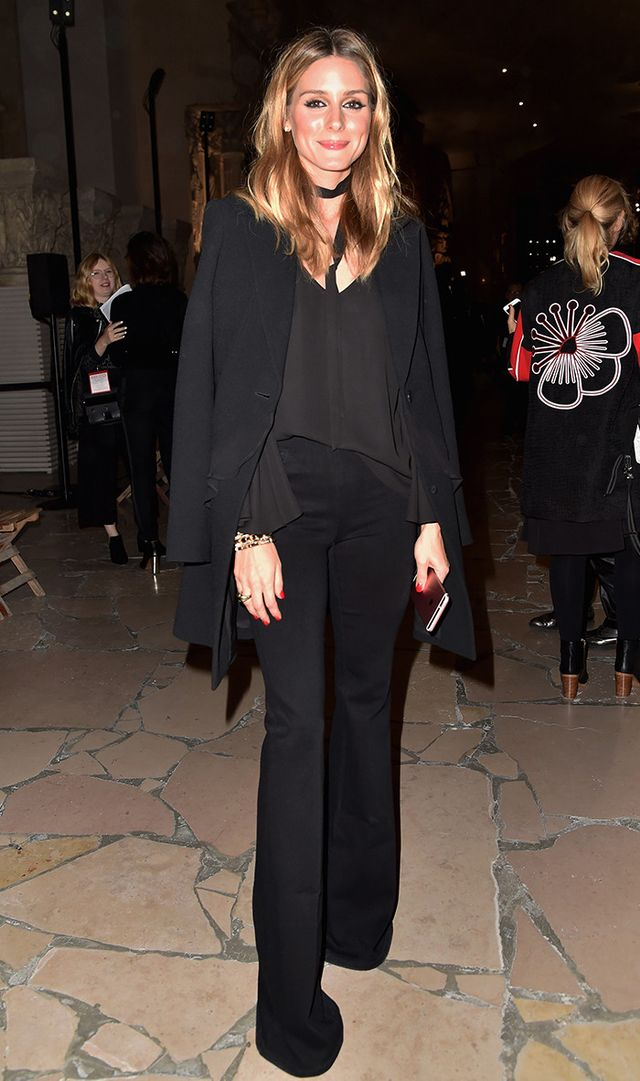 On Olivia Palermo: Jay Godfrey blouse.