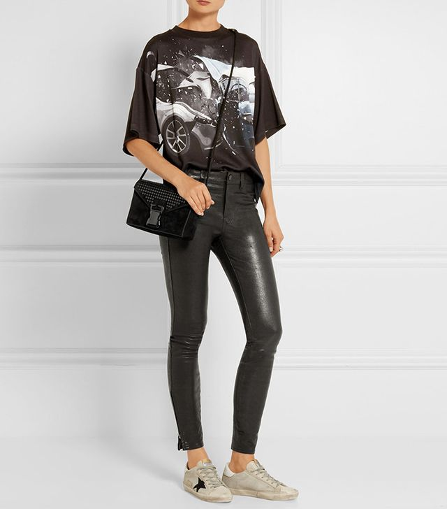 J Brand 8001 Leather Skinny Pants