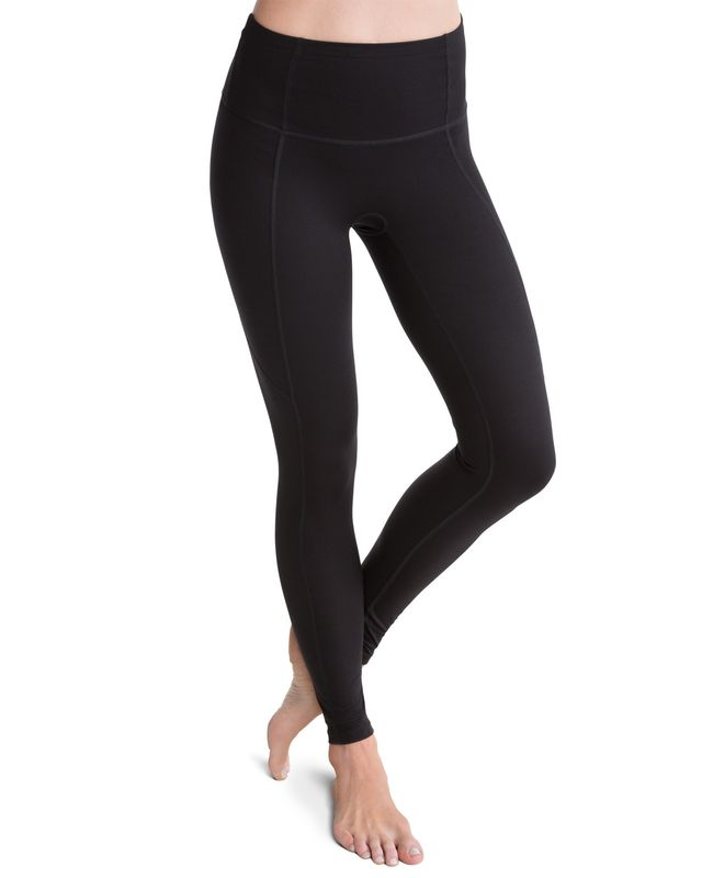 Spanx Active Compression Very Black Pants