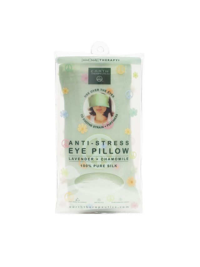 Earth Therapeutics Anti-Stress Silk Eye Pillow