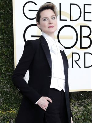 The Amazing Reason Evan Rachel Wood Didn't Wear a Dress to the Golden Globes
