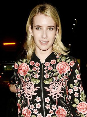 Emma Roberts Swapped Skinny Jeans for These Surprising Pants