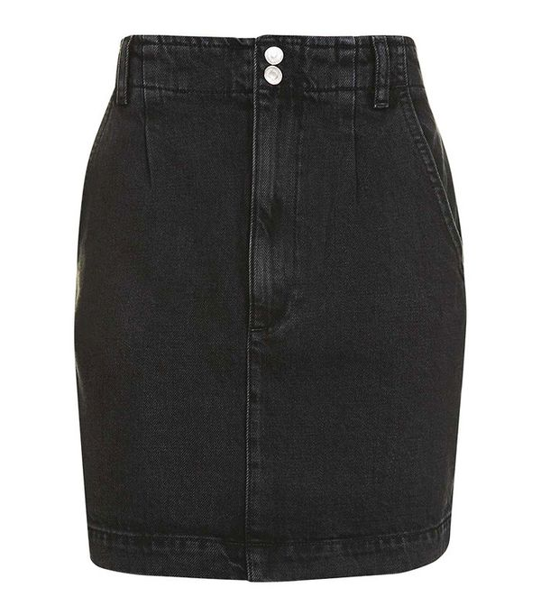 Topshop Moto '80s Highwaist Skirt