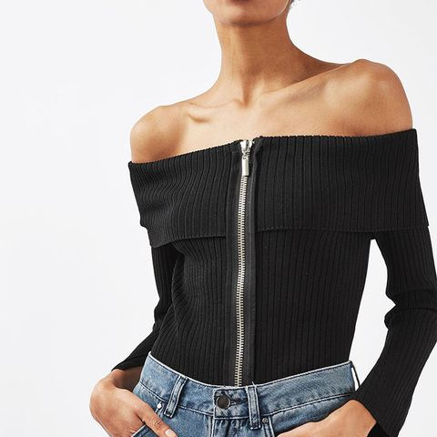 Bardot Zip Top by Boutique