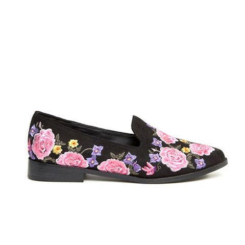 Musical Embroidered Flat Shoes