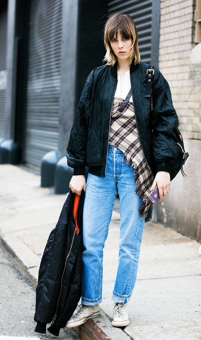 Edie Campbell street style