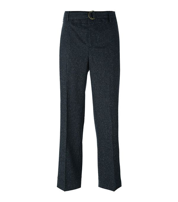 Incotex Wide Leg Tailored Trousers