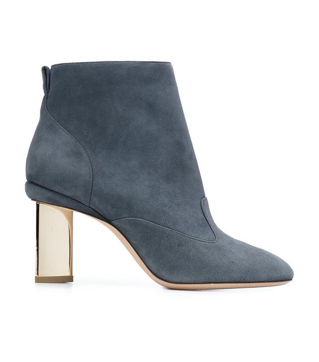 Nicholas Kirkwood Lucite Heel Ankle Boots