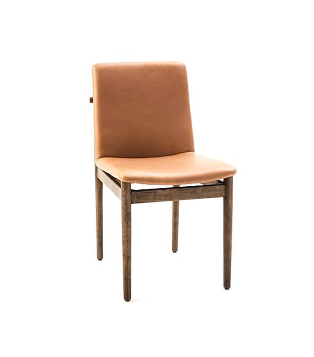 West Elm Framework Leather Dining Chair