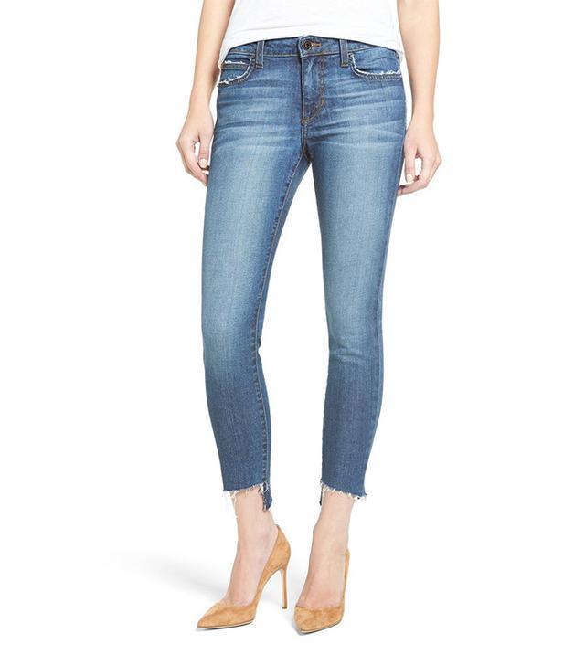 Joe's Blondie Step Hem Ankle Skinny Jeans (Corynna)