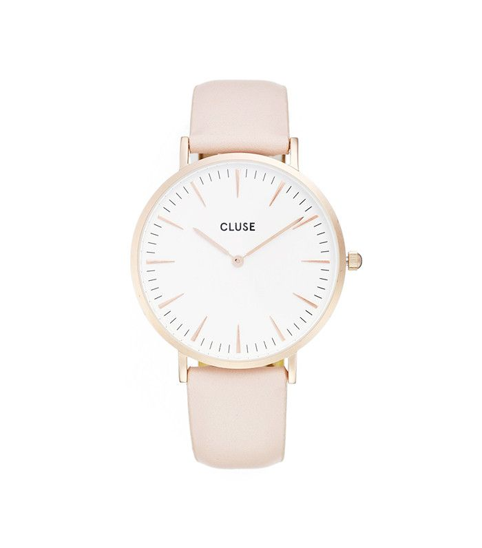 La Bohème Leather Strap Watch, 38mm by Cluse