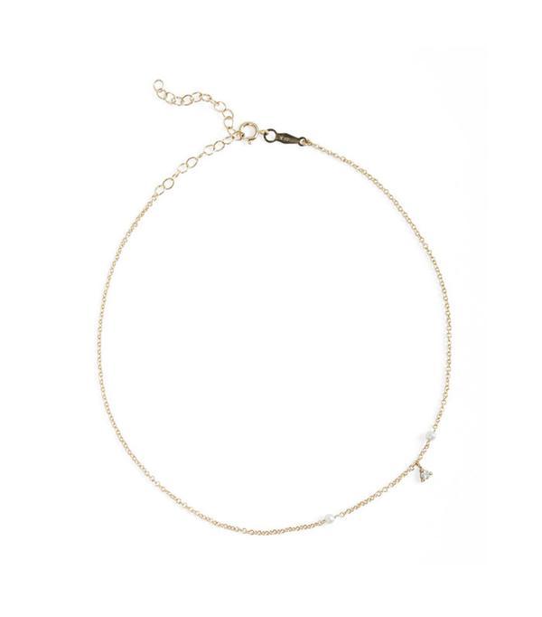 Catbird Jewelry Dewdrop Anklet