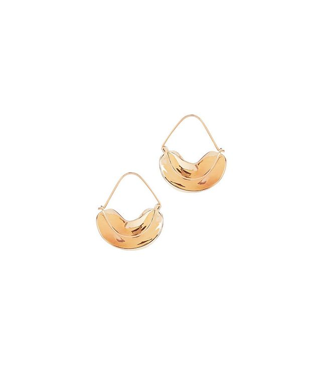 Anissa Kermiche Paniers Dores Earrings
