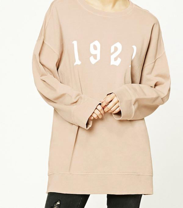 Forever 21 1921 Graphic Sweatshirt