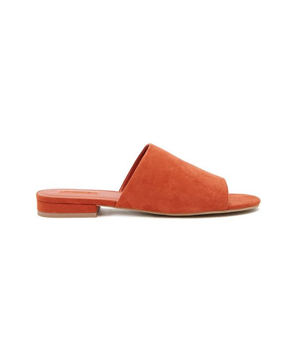 Forever 21 Faux-Suede Slides
