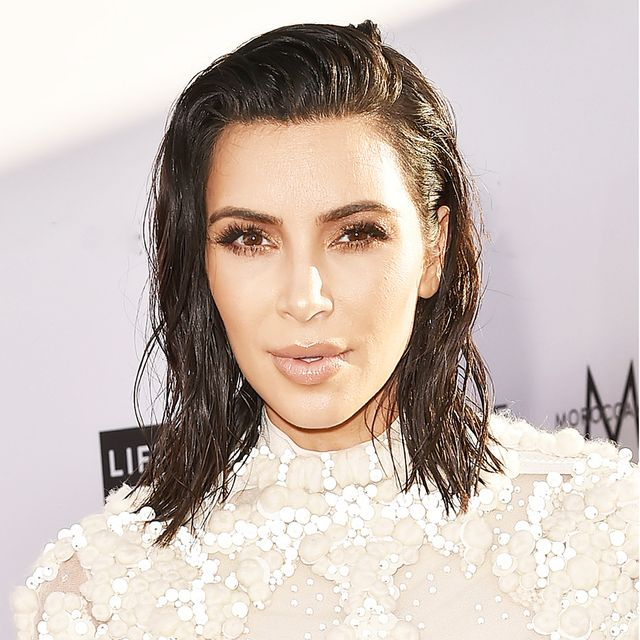 Kim Kardashian Bob - Kim Kardashian Hair Evolution