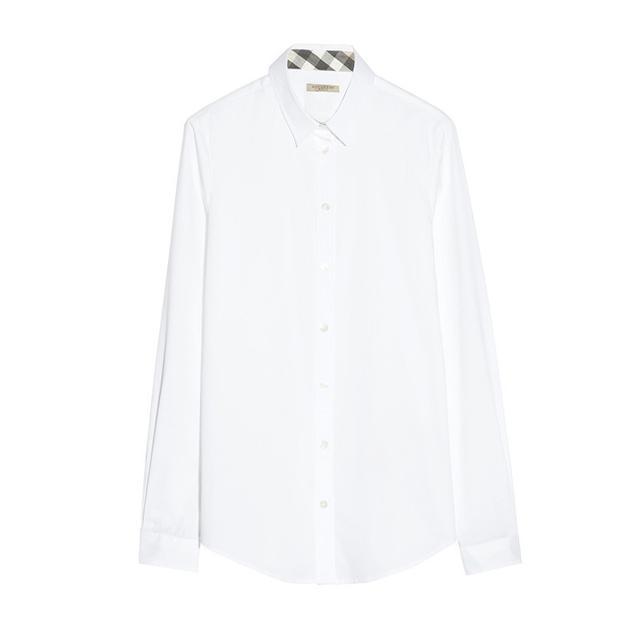 Burberry Stretch-Cotton Shirt