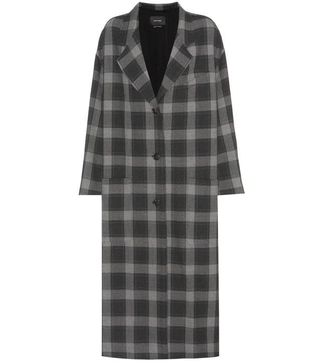 Isabel Marant Plaid Coat