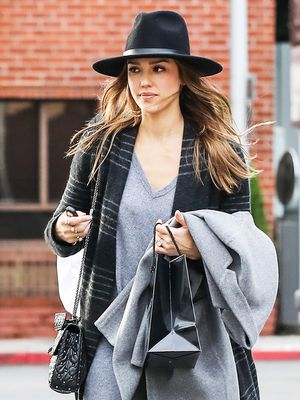 Jessica Alba's Latest Errands Outfit Looks Ridiculously Cozy