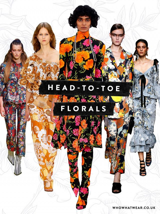 how to wear florals