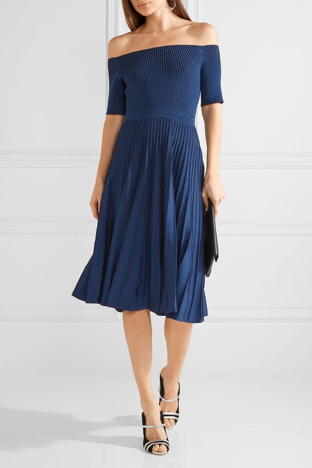 Jason Wu Off-the-Shoulder Knit Dress