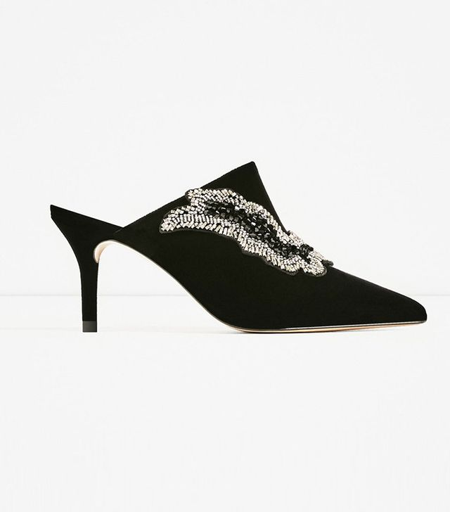 Zara Velvet Shoes