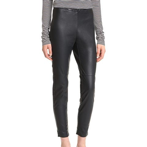Lilliana Stretch Vegan Leather Leggings