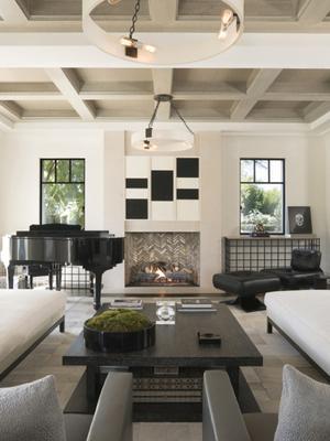 Kourtney Kardashian's Living Room Is on Point—Look Inside