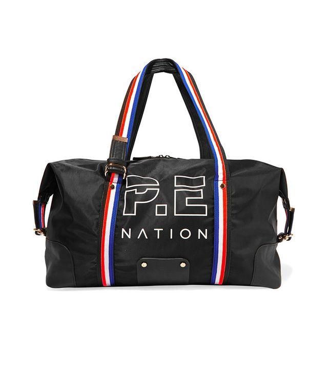 P.E Nation Grosgrain-Trimmed Printed Shell Bag